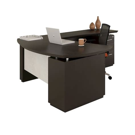 left handed l shaped desk quot l quot shaped left handed 66 quot desk system with 1 b b f