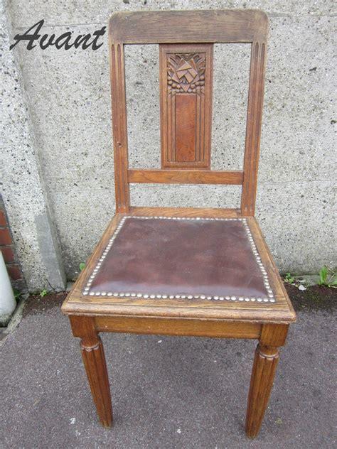 chaise ancienne cuir et bois deco chaise bois table de lit a roulettes