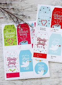 fun free christmas printables roundup for 2016 With free customizable gift tags