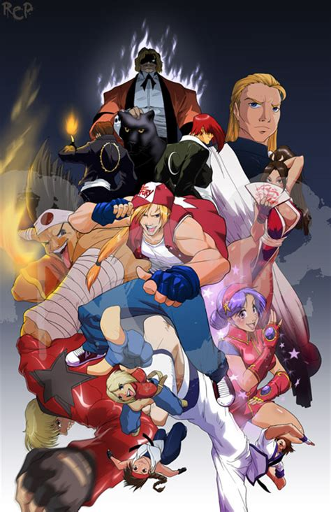 king  fighters   robaato  deviantart