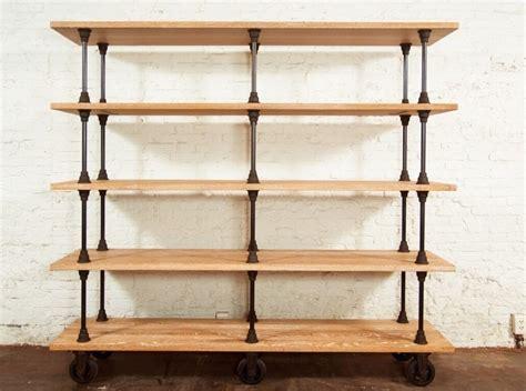 standing shelving units wood