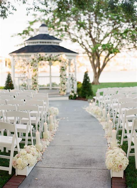 traditional tampa garden inspired wedding