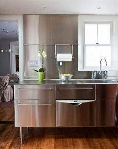 contemporary kitchen ideas with stainless steel kitchen With contemporary kitchen ideas with stainless steel kitchen island