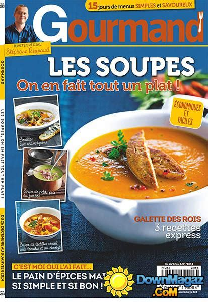 gourmand magazine cuisine gourmand 26 décembre 2013 no 283 pdf