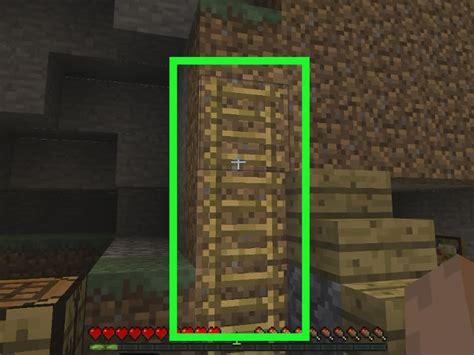 formas de hacer una escalera en minecraft wikihow