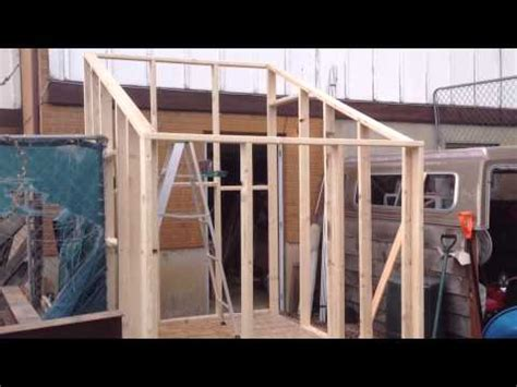 Slant Roof Shed Construction by Shed Roof Greenhouse Plans Sheds Plan For Building