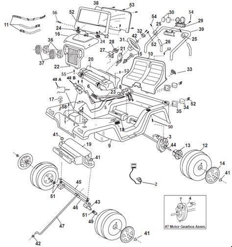 Jeep Wrangler Parts Diagram Auto Wiring