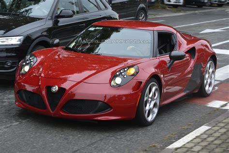Potential High-performance Alfa Romeo 4c Spied