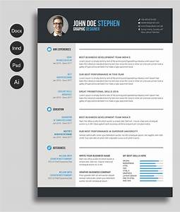 free msword resume and cv template collateral design With best free cv templates
