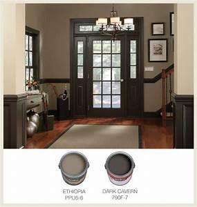 Picking interior trim color for the home pinterest for Ideas for interior trim colors
