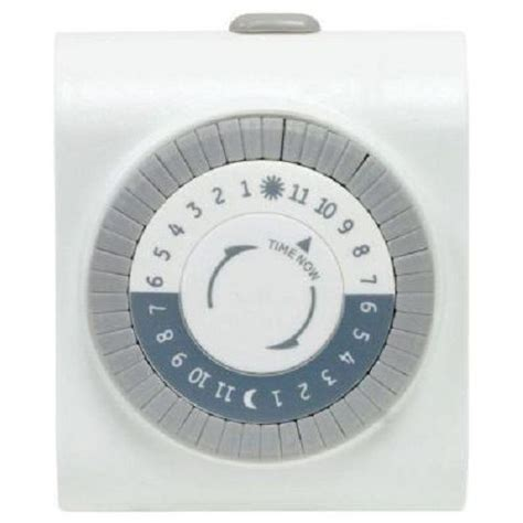 how to program outdoor light timer defiant indoor big button timer ebay