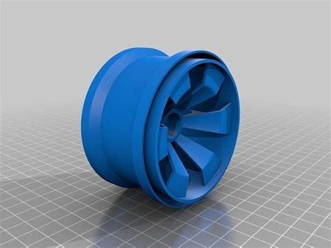 openrc rc truggy rims   model  printable stl stp
