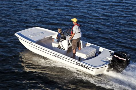 Mako Boats Bass Pro by Mako Pro Skiff 17 The River Powered By A 60 Hp Mercury
