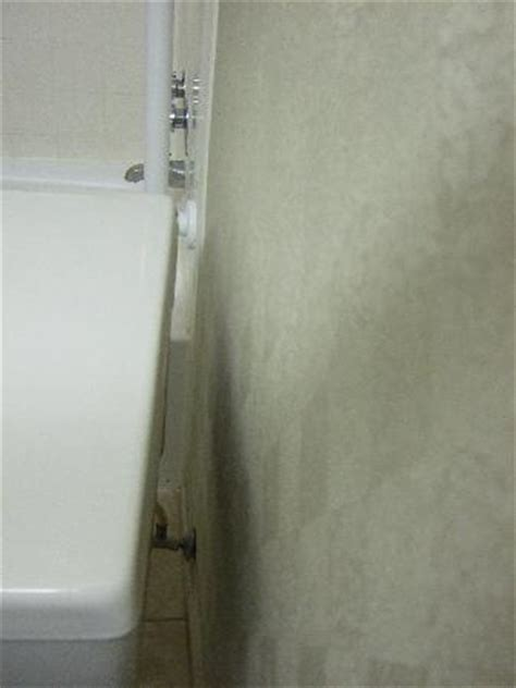 toilet clearance from wall uneven space between toilet and wall picture of best 6275