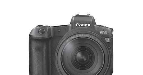 Canon Eos R Camera Pdf User Guide