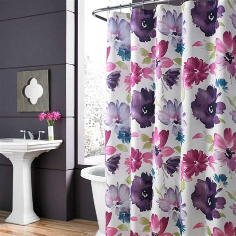 floral shower curtain 15 shower curtains for a grown up bathroom