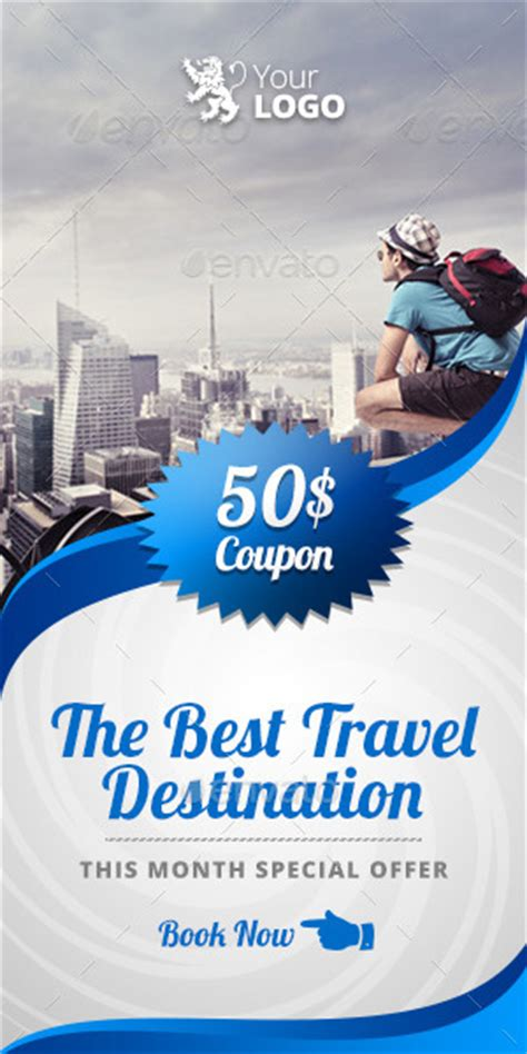 Travel Agency Web And Facebook Banners Ads By Belegija
