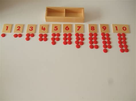 And Counters by Number Cards And Counters Montessori Pre School Supplies