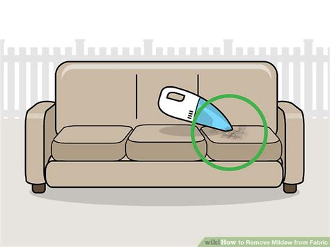 Remove Mildew From Upholstery by 4 Ways To Remove Mildew From Fabric Wikihow