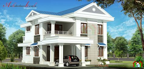 3 Bhk Home Design :  1500 Square Feet 3 Bhk Kerala House