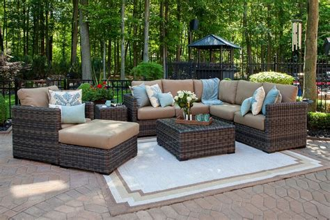 used patio furniture sets used wicker patio furniture