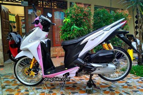 Modif Vario 150 Putih by Variasi Vario 150 Modif Ring 17 Jari Jari Aung Myo Thant