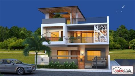3 Storey Commercial Building Design
