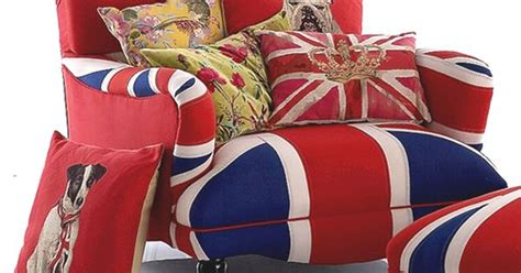 Oversized Union Jack Armchair W/ Antiqued Flags