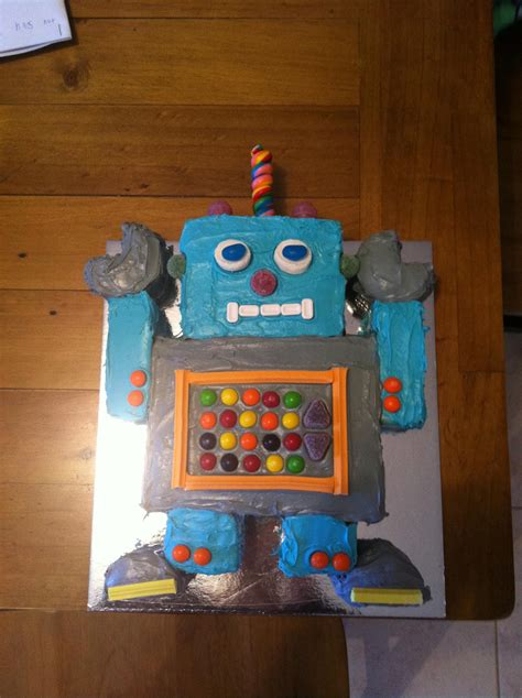robot cake decoration ideas  birthday cakes