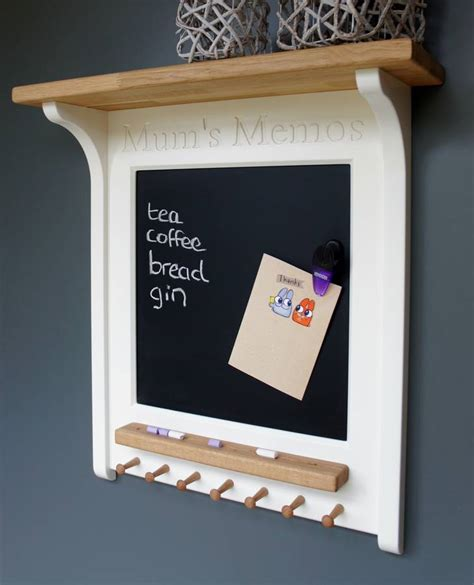 mum's memos magnetic chalk board by chatsworth cabinets