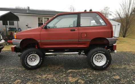 mustang  powered  ford bronco festiva
