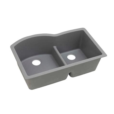 elkay kitchen sinks undermount elkay quartz classic undermount composite 33 in 7049