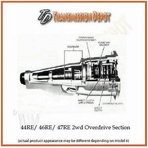 42rh 44rh 46rh A500 A518 Remanufactured Dodge   Jeep Overdrive Section