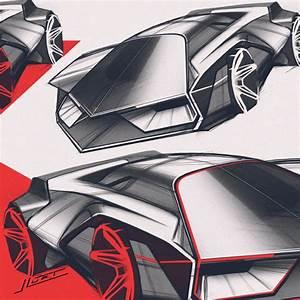 lambo sketch - johann luft - Draw to Drive
