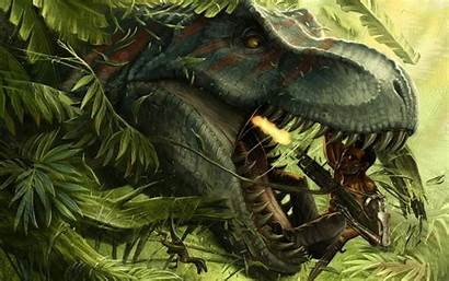 Sci Fi Prehistoric Wallpapers Jungle Fiction Science