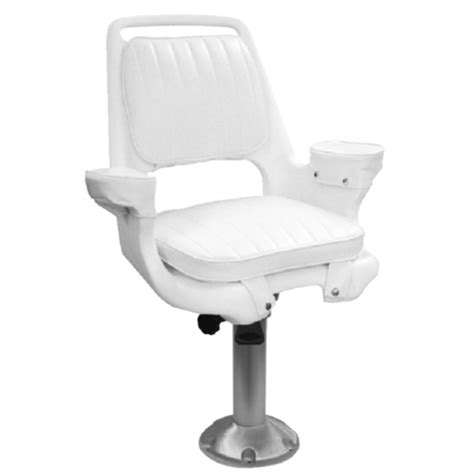 Boat Seat Pedestal Lubricant by 15 Quot Fixed Height Fishing Boat Captains Pilot Chair Seat
