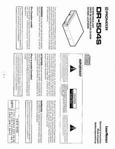 Dr-504s Manuals