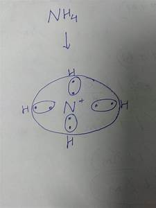 What Is The Electron Dot Structure For Nh4