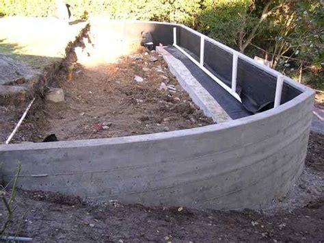 concrete retaining wall marin concrete contractor in san rafael retaining walls van midde and son concrete contractor