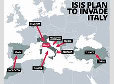 ISIS Daesh blueprint for EU invasion and coming of