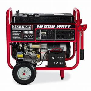 Gentron 10 000w Portable Generator