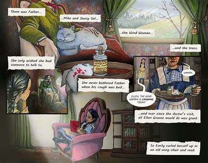 Moon Emily Graphic Novel Characters Through Which