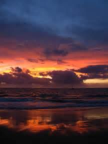 Sunset Maui Hawaii Beaches