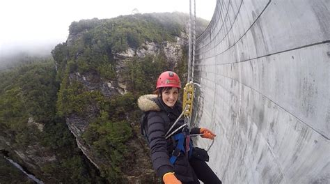 Conquering the World's Highest Commercial Abseil! - Gordon ...