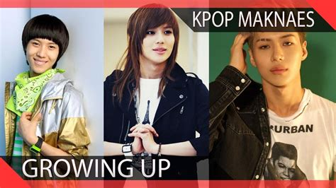 15 Kpop Maknaes Growing Up Before Your Eyes Youtube