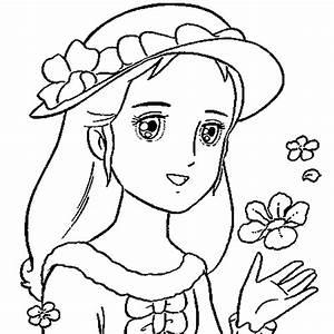 Coloriage De Princesse En Ligne Gratuit Imprimer