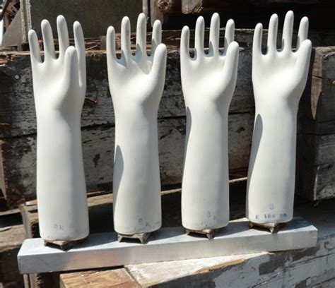latex glove molds  base recycling
