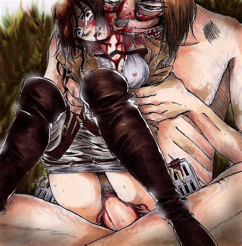 Rule 34 Attack On Titan Blood Giant Gore Guro