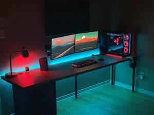 Clean, Gaming, Setup, Battlestations