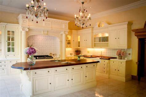 display clive christian classic cream victorian kitchen